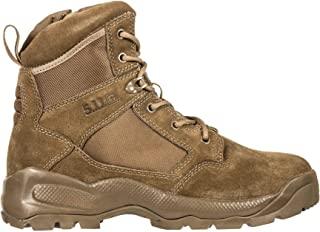 "5.11 Men's ATAC 2.0 6"" Tactical Side Zip Desert Military Boots, Style 12395, Desert Coyote"