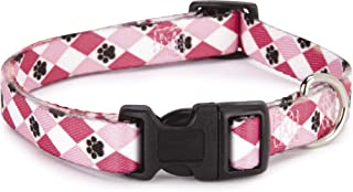 Casual Canine Nylon Pooch Patterns Dog Collar