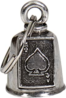 هوت ليذرز BEA3014-17655 فضي 1 بوصة × 1.5 بوصة ايس البستوني جريملين بيل
