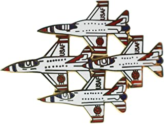 Thunderbirds USAF Air Demonstration Squadron Diamond Formation 1 3/4 Inch Pin HON16203