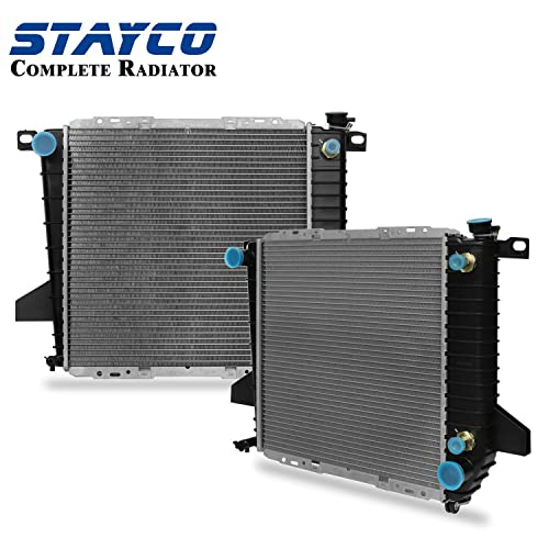 CU1726 Radiator for Ford F-100 Ranger Mazda B2300 1995 1996 1997 L4 2.3L