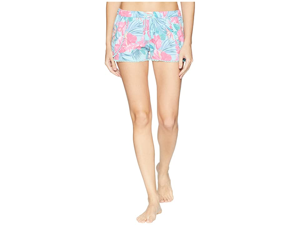 P.J. Salvage Hot Tropic Shorts (Mint) Women