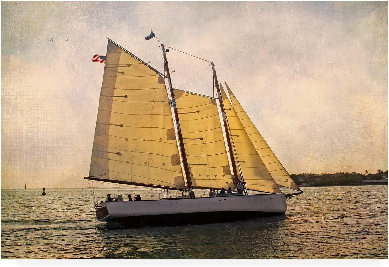 Trademark Fine Art Morning Sail by Debra Van Swearingen, 12x19