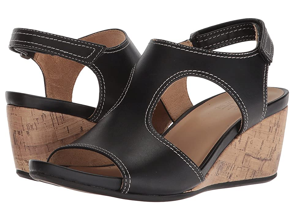 Naturalizer Cinda (Black Leather) Women