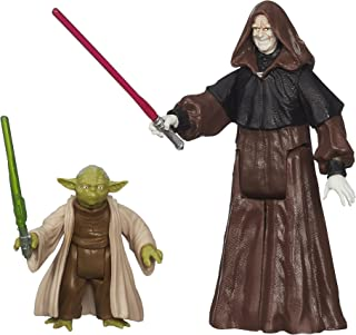 Star Wars, Mission Series: Senate Duel, Darth Sidious and Yoda, Action Figures
