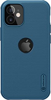 "Nillkin Case for Apple iPhone 12 Mini (5.4"" Inch) Super Frosted Shield Pro Magnetic Hard Back Soft Border (PC + TPU) Cover..."
