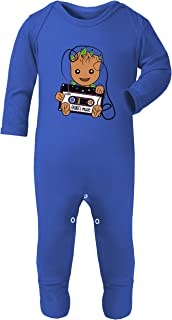 Toddler Pajamas Baby Bodysuit Grow Sleepers Footies Boy Footed Groot Daddy Son