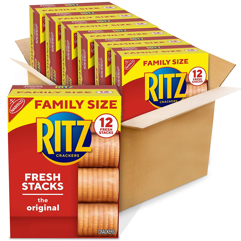 RITZ Fresh Stacks Original Long-awaited Crackers Family 17.8 oz 6 Bo Finally popular brand - Size
