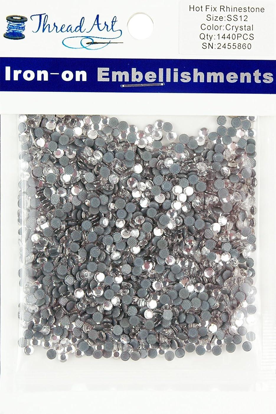 SS12 Crystal Hot Fix Rhinestones 10 Gross (1440 Stones/pkg)