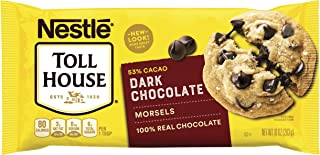 Nestle Toll House Dark Chocolate Chip Morsels 10-Oz. Bag