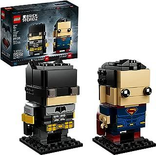 LEGO BrickHeadz Tactical Batman and Superman 41610 Building Kit (209 Piece) (Amazon Exclusive)