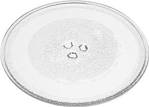 vhbw Placa de microondas de vidrio 25.5cm compatible con Balay 3CG5172A0/03, 3CG5172B0/03 microondas - plato giratorio con soporte en Y