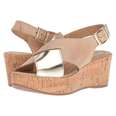 Cordani Cleary (Natural Leather/Gold) Women