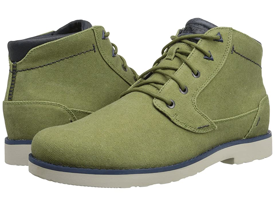 Teva Durban Waxed Canvas (Avocado) Men