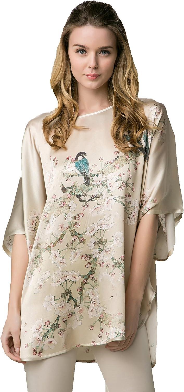 Grace Silk 100% Silk Nightgown Tunic