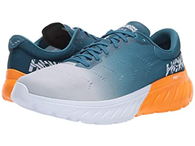 Hoka One One Mach 2 (Corsair Blue/Bright Marigold) Men