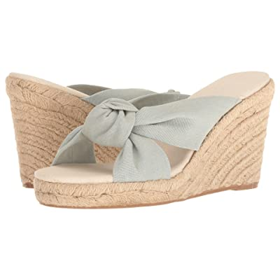 Soludos Knotted Wedge (Chambray) Women