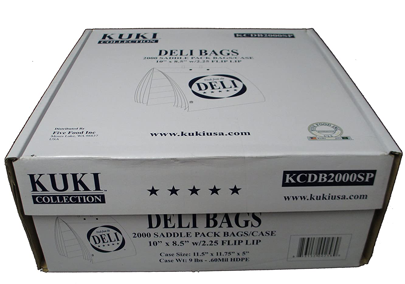 Kuki Collection Deli Bags - Case of 2000