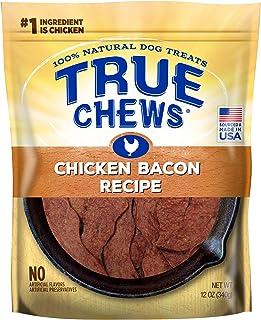 Sponsored Ad - True Chews Dog Treats, Chicken Bacon Recipe, 12 oz, Medium (019369-2303)