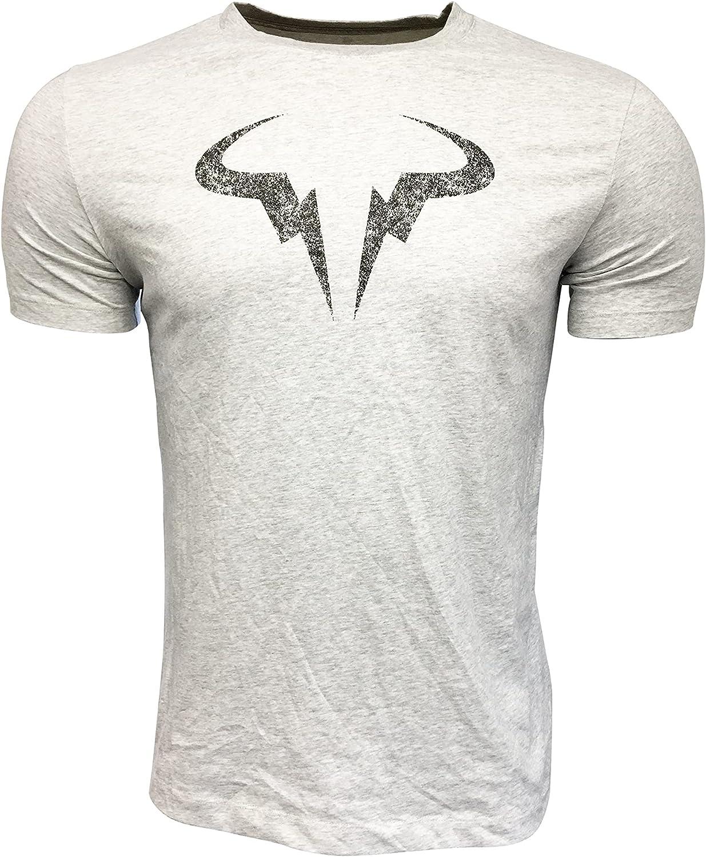 Nike Men's T-Shirt Cotton Polyester White DD2248 Lar Blend Fashion Rafa Sale special price