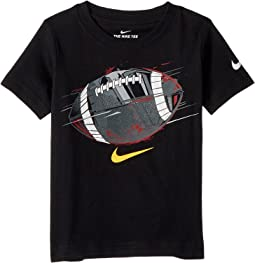 Football Ball Flex Short Sleeve Tee (Toddler)