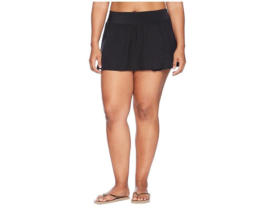 Nike Plus Size Element Boardskirt (Black) Women