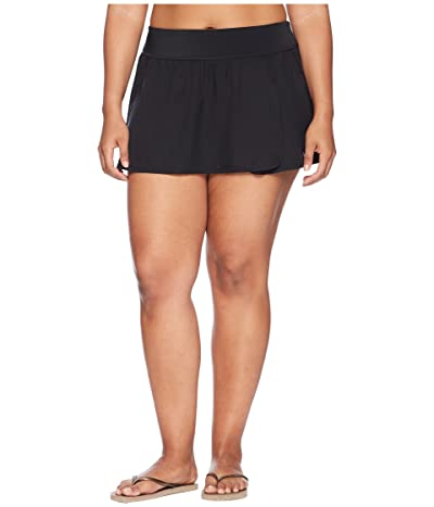 Nike Plus Size Element Boardskirt (Black) Women