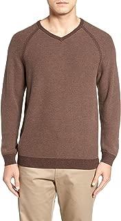 Men's Make Mine a Double Reversible Pima Cotton V Neck Sweater