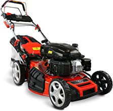 HECHT 5-IN-1 Benzin Rasenmäher – leistungsstarker 4 Takt Eco Motor 4,4 kW (6,0 PS) –..