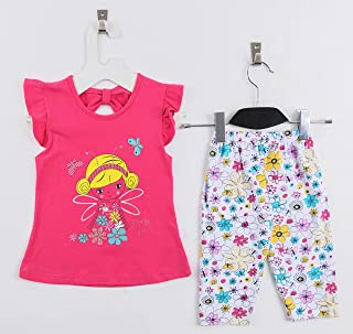 Cotton Set For Girls 2 Pcs From Lumex - Summer