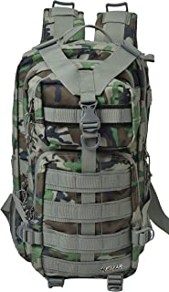 F Gear Military Tactical 29 Liter Backpack (Woodland A Camo)