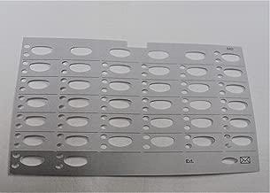 Lot/Pack of 5 Paper Desi/Label/Designation Strip for AT&T Avaya Lucent Partner 34D Series 2 Phone
