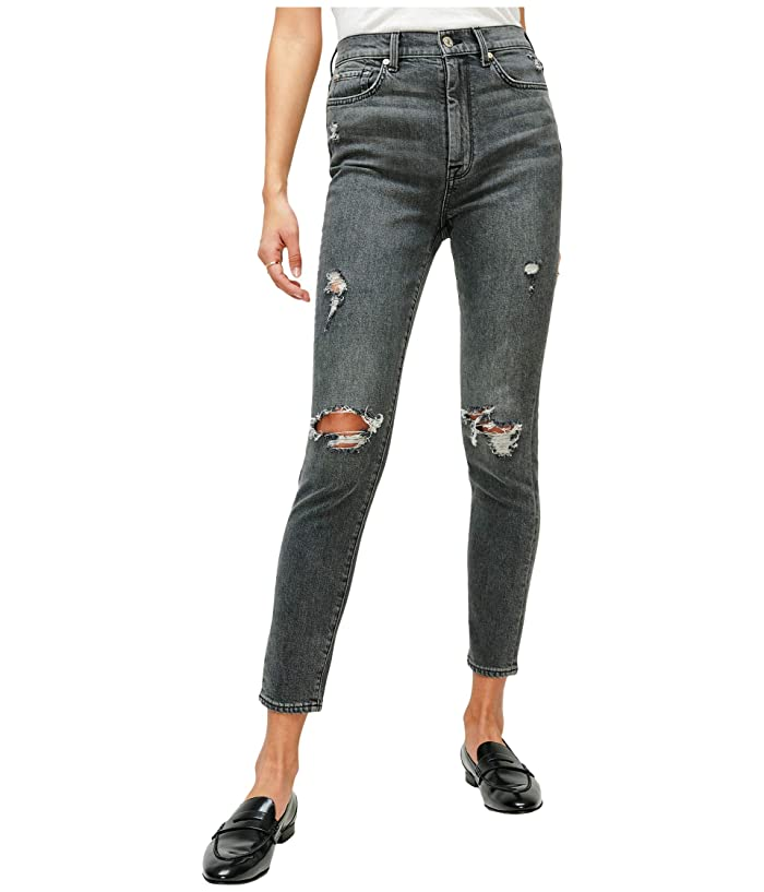 7 For All Mankind  High-Waist Ankle Skinny in Retro Silverlake Boulevard (Retro Silverlake Boulevard) Womens Jeans