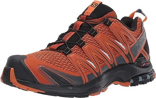 Salomon Herren Trailrunning-Schuhe, XA PRO 3D, Farbe  Orange (Umber schwarz Hawaiian Sunset), Größe  45 1 3