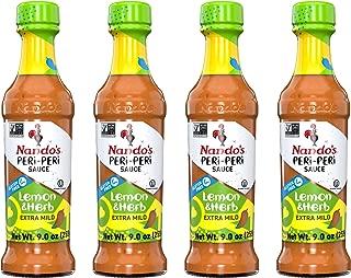 Nando's PERi PERi Sauce Lemon and Herb 9.1oz, 4PK