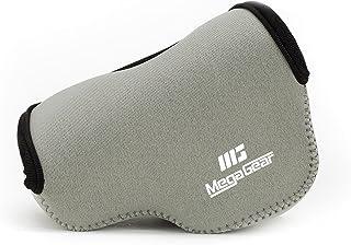 MegaGear Ultraleichte Kameratasche aus Neopren kompatibel mit Sony Alpha A6400, A6500, A6300, A6000 (16 50 mm)   Grau