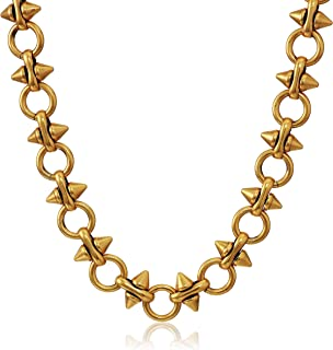 Spear and Circle Chain 20 in.Magnetic Necklace, RG