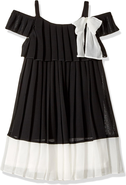 Bonnie Jean Girls' Cold Shoulder Dress