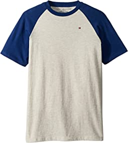 Raglan Short Sleeve Tee (Big Kids)