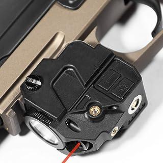 Firefly V2 Flashlight Laser Sight   Strobe Function   Combat Veteran Owned Company   Pistols   Rifles   220 Lumens   Magnetic Charging   Laser Flashlight Combo For Handgun Pistol Hand Gun   Gun Light
