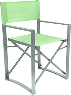 Yellowstone Vector Folding Director Chair Lime