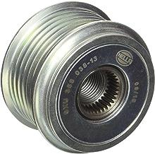 HELLA 9XU 358 038-131 Rueda libre alternador, Poleas - Ø: 55,6mm, Medida de rosca: M16x1,5, Cantidad de acanaladuras: 6