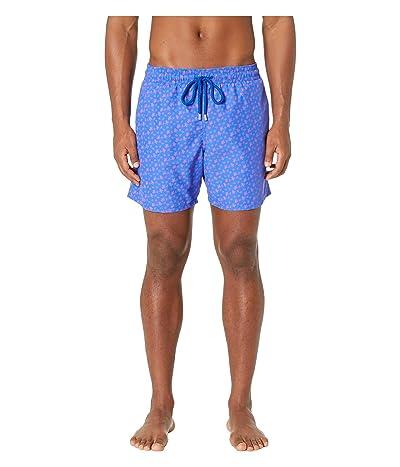Vilebrequin Moorea Micro Ronde Des Tortues (Bleu De Mar) Men