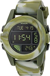Nixon Men's A1971727-00 Unit Digital Display Automatic Self Wind Multi-Color Watch