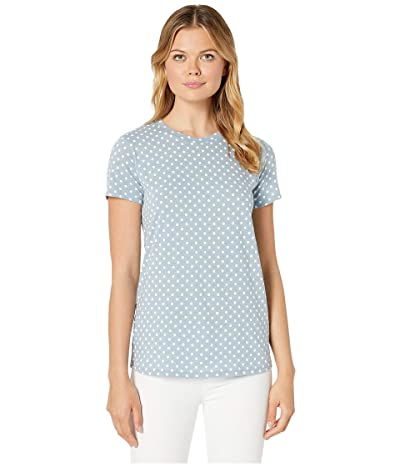 Lucky Brand All Over Floral Tee (Polka Dot) Women