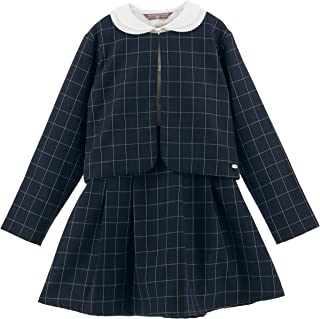 (キャサリンコテージ) Catherine Cottage子供服 女の子 TM1035 スーツ 入学式 チェック柄セットアップ