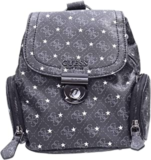 Guess Fashion Backpack For Women, Black - SM717932