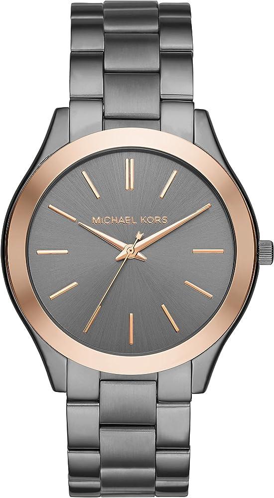 Michael kors,orologio per uomo,in acciaio inossidabile opaco MK8576