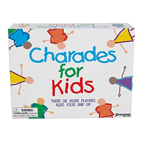 Pressman Charades for Kids -- The 'No Reading Required' Family Game