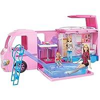 Barbie DreamCamper Adventure Camping Playset (Pink)